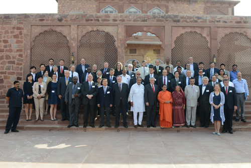 The World Water Council's 58th Board of Governors meeting was held for the first time in India at the Water Resources Center in Jodhpur. Photo: Jal Bhagirathi Foundation
