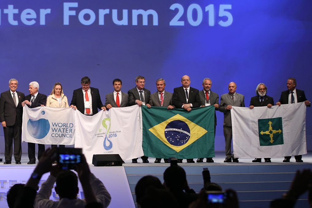 Closing ceremony of the 7th World Water Forum - Daegu, 17 April. Photo: National Committee for the 7th World Water Forum