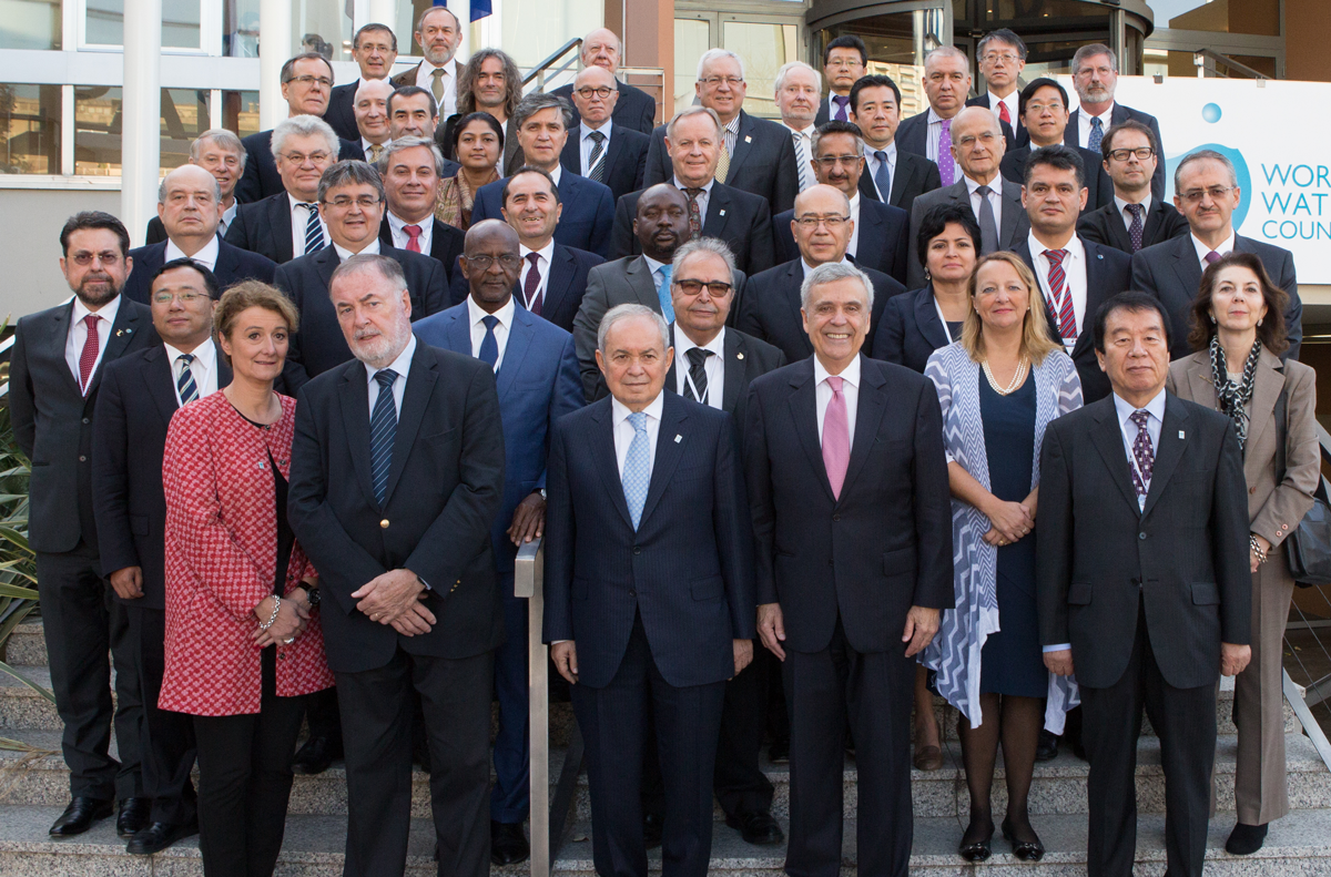 The Council's Board of Governors for the 2016-2018 mandate. ©WWC/S. Sauerzapfe