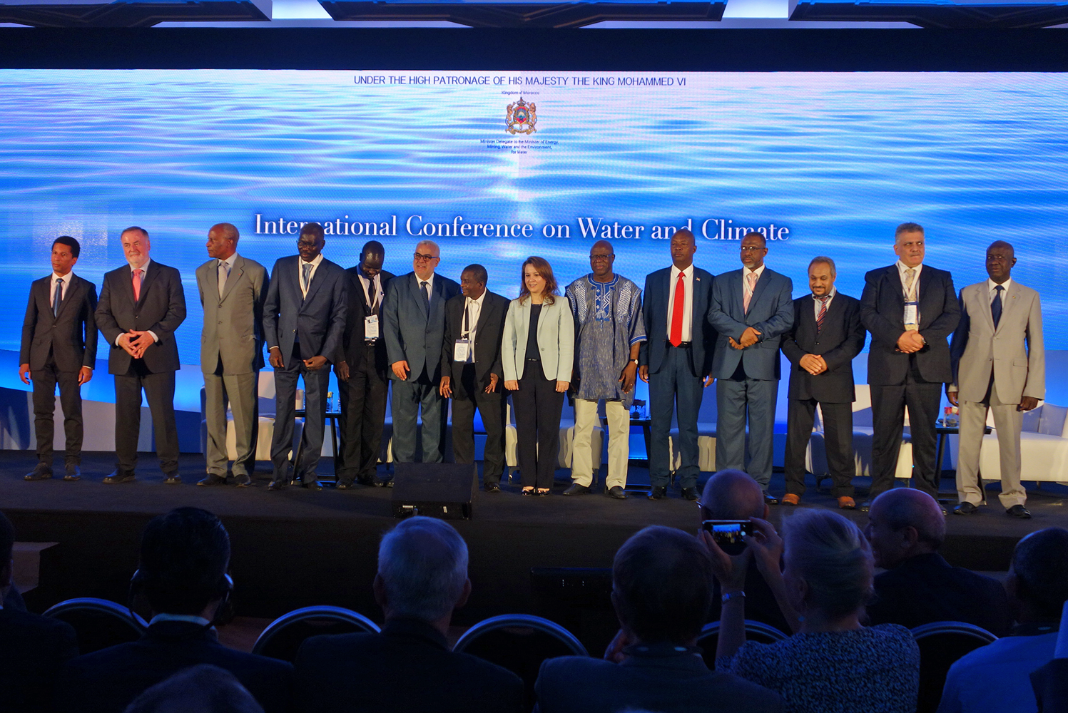 Opening Ceremony of the International Conference on Water and Climate, Rabat, Morocco, 11 July 2016
