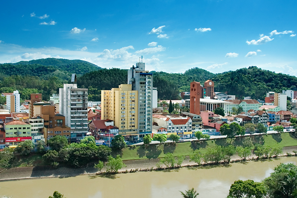 City of Blumenau, Brazil © Marlon Hammes