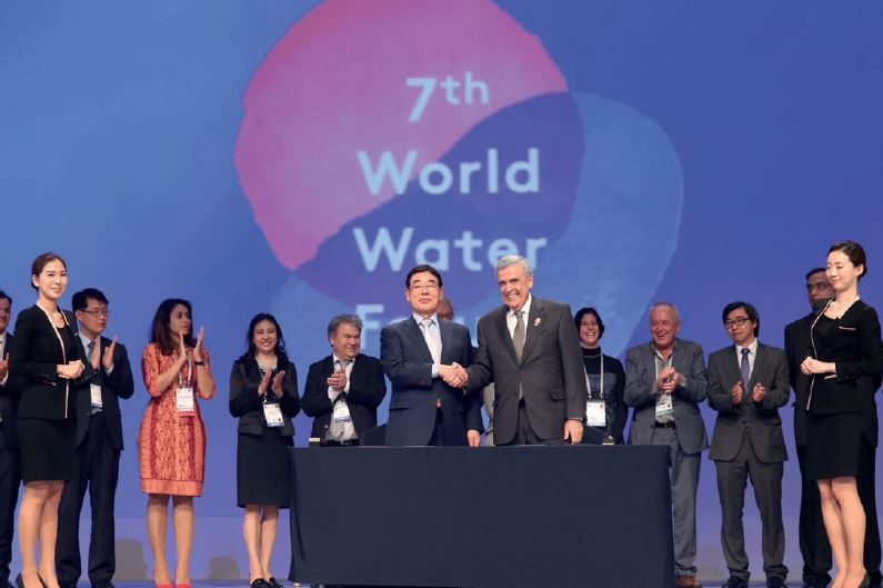 The Daegu-Gyeongbuk Implementation Commitment was signed in the presence of champion organizations during the 7th World Water Form on 17 April 2015 and launched the process of the Implementation Roadmaps.