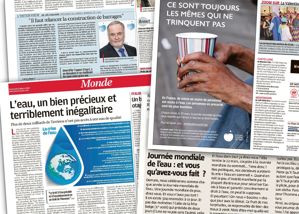 A look at the French newspapers on 22 March 2019