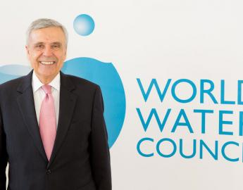 Benedito Braga has been elected to serve his second term as President of the World Water Council ® WWC/S. Sauerzapfe