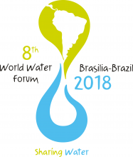 8th World Water Forum logo with slogan