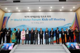 International Steering Committee of the 7th World Water Forum at the Opening Ceremony of the 7th World Water Forum Kick-off Meeting in Daegu-Gyeongbuk, Republic of Korea