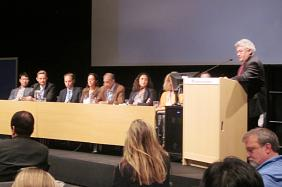 7th World Water Forum Seminar at the World Water Week in Stockholm, Sweden, September 2013