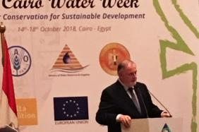 First Cairo Water Week - Opening Ceremony - Mr Loic Fauchon, Honorary President of the World Water Council