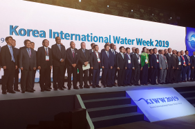 Korea International Water Week opens with a strong political presence from the Minister of Environment of Korea, as well as Ministers from Senegal, Algeria and Sri Lanka, the Mayor of Daegu, the Deputy Speaker of the National Assembly and other esteemed participants, 4 September 2019